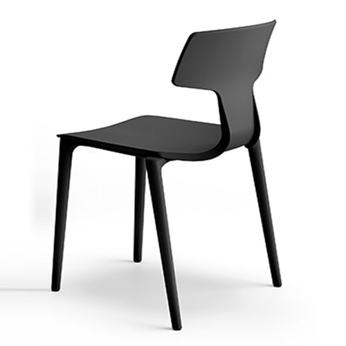 CHAIR SPLIT BLACK